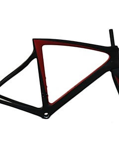 2016 New Arrival Carbon Fiber Road Bicycle Frameset 3k T1100 Carbon Frames Black on Black BOB Matte Bike Frame Di2 Group