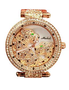 女性用 ドレスウォッチ ファッションウォッチ ダミー ダイアモンド 腕時計 カジュアルウォッチ 模造ダイヤモンド クォーツ 日本産クォーツ ステンレス バンド シルバー ゴールド ローズゴールド