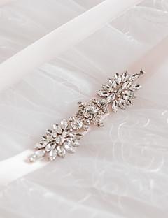 새틴 웨딩 / 파티/이브닝 / 일상복 창틀-스팽글 / 비즈 / 모조 다이아몬드 여성 98 ½인치(250cm) 스팽글 / 비즈 / 모조 다이아몬드