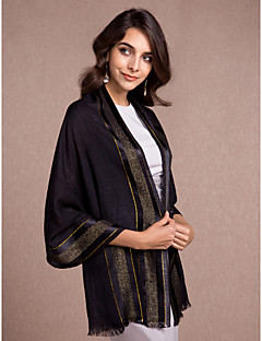 Women's Wrap Shawls Sleeveless Cotton More Colors Wedding / Party/Evening / Casual Off-the-shoulder