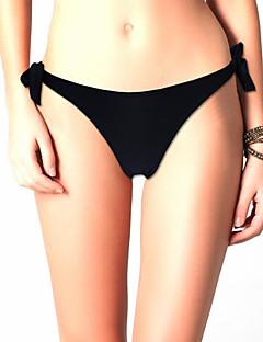Women's Sexy Adjustable Side Ties Brazilian Thong Swimsuit Cheeky Bikini Bottom