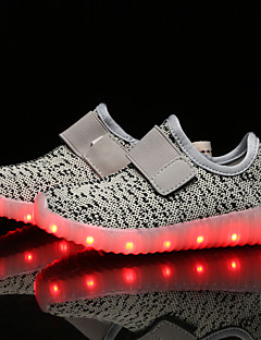LED Light Up Shoes, Running Boys' Shoes Outdoor / Athletic / Casual Synthetic Fashion Sneakers Black / Blue / Yellow / Pink / Red / Gray shoes
