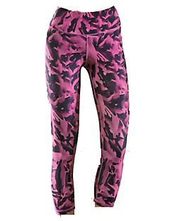 XAOYO® Calças 3/4 Para Ciclismo Mulheres Vestível Moto Fundos Tosão Exercicio e Fitness Primavera / Verão / Outono