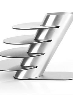 roestvrij staal, metaal coaster kopmok pads servies pad placemat kopje kom drankjes coasters 4pcs / lot