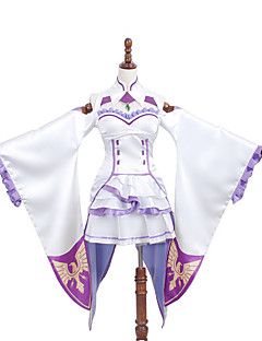 Re:Life In A Different World From Zero Emilia Cosplay Dress