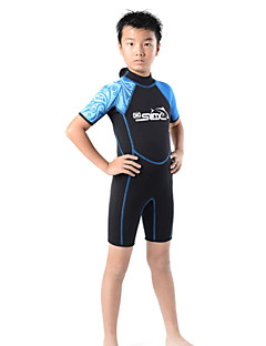 Others Kid's Diving Suits Diving Suit Compression Wetsuits 2.5 to 2.9 mm Green / Pink / Blue S / M / L / XL / XXL Diving