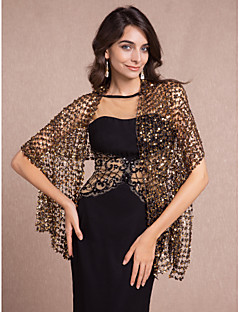 Beautiful Sequins Wedding/Evening Wraps/Shawls (More Colors) Bolero Shrug
