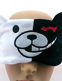 Maska Inspirovaný Dangan Ronpa Monokuma Anime Cosplay Doplňky Maska Biały Manšestr Pánský / Dámský