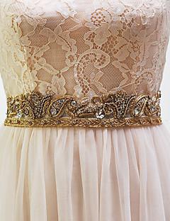 Raso elasticizzato Matrimonio Fusciacca-Con perline Da donna 250cm Con perline