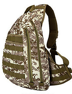 10 L Sling & Messenger Bag Camping & Hiking Outdoor Waterproof Light Yellow Nylon