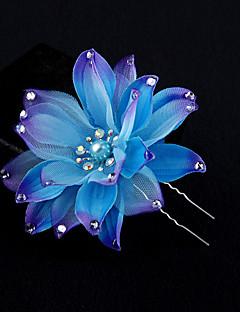 Dame Stof Medaljon-Bryllup / Speciel Lejlighed Blomster 1 Stykke Multifarve