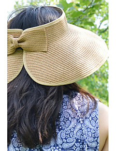 Women Summer Folding Straw Floppy Hat