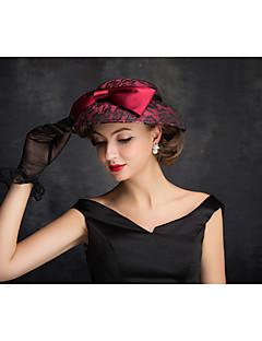 Women's Lace / Flax / Net Headpiece-Outdoor Hats 1 Piece