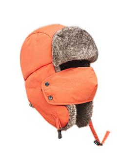 ケーバ帽 ファーハット スキー 帽子 女性用 男性用 保温 スノーボード ポリエステル スキー キャンピング&ハイキング スノースポーツ ダウンヒル 冬