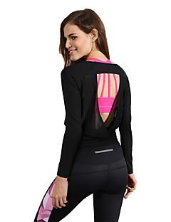 Esportivo®Ioga Shorts / MoletomRespirável / Alta Respirabilidade (>15,001g) / Secagem Rápida / Vestível / Compressão / Redutor de Suor /