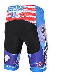 Miloto מכנס קצר מרופד לרכיבה לנשים לגברים לילדים יוניסקס אופניים מכנסיים קצרים מכנסיים נושם ייבוש מהיר דחיסה תומך זיעה חלק נוחפוליאסטר