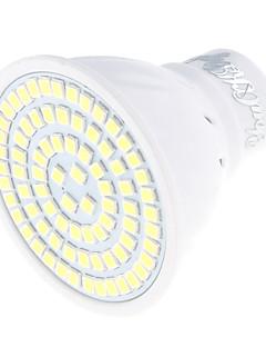 5 GU10 Spot LED MR16 80 SMD 2835 450 lm Blanc Chaud / Blanc Froid Décorative AC 100-240 V 1 pièce