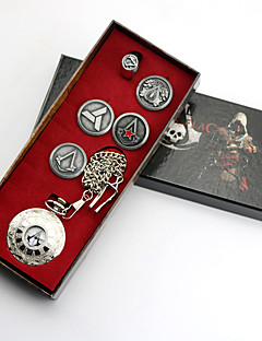 Šperky Inspirovaný Assassin's Creed Conner Anime a Videohry Cosplay Doplňky Brož / Hodiny / hodinky Stříbro Stop Pánský / Dámský