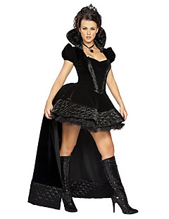 Cosplay Costumes/Party Costumes Angel & Devil / Vampires / Wizard Halloween / Christmas / Carnival Black Vintage Dress
