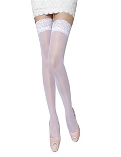 White Lace Stockings
