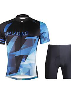 98424dc65192 ILPALADINO Φανέλα και σορτς ποδηλασίας Ανδρικά Κοντομάνικο Ποδήλατο Σετ  ΡούχωνΓρήγορο Στέγνωμα Υπεριώδης Αντίσταση Αναπνέει Συμπίεση