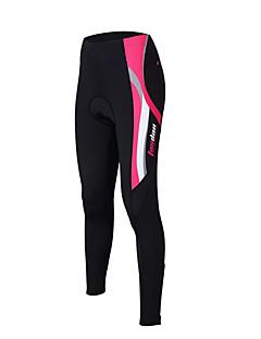 TASDAN® Calças Para Ciclismo Mulheres Respirável / Secagem Rápida / Tapete 3D / Tiras Refletoras / Redutor de Suor MotoCalças /