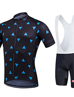 Fastcute® חולצת ג'רסי ומכנס קצר ביב לרכיבה לנשים / לגברים / לילדים / יוניסקס שרוול קצר אופנייםנושם / ייבוש מהיר / חדירות ללחות / תומך