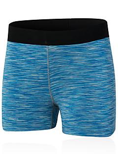 Žene Trčanje Kratke hlače Quick dry Kompresija Udobnost Proljeće Ljeto Jesen Yoga Sposobnost Slobodno vrijeme Sport TrčanjeElastan