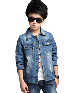 Boy's Casual/Daily Solid Jeans,Others Winter / Fall Blue