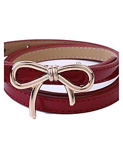 Women PU Waist Belt,Fashionable Jewelry / Casual Gold / Silver / Alloy All Seasons