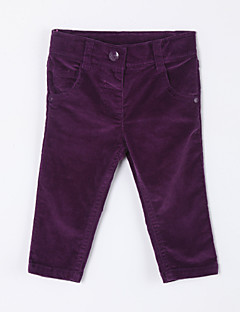 Girl's Casual/Daily Solid Pants,Cotton Fall Purple