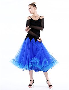 High-quality Velvet with Ruffles Performance Dresses for Women's Performance(More Colors)