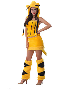 Costumi Cosplay Fantasia animale Feste/vacanze Costumi Halloween Tinta unita Top Gonna Altri accessori Halloween Terylene