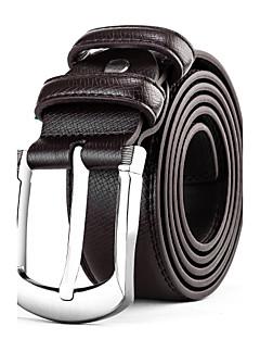 Masculino Cinto para a Cintura Casual Liga Pele Masculino