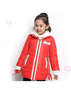 Girl's Casual/Daily Solid Suit & Blazer Winter Blue / Red
