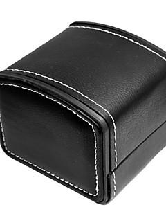 여성 / 남성의 PU 가죽 시계 보석 포장 상자 accessories10 * 8cm)