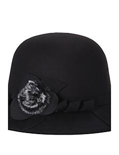 Women Tweed Bucket HatParty Spring / Fall / Winter