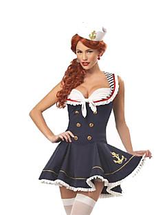 Costumes More Costumes Halloween / Oktoberfest Black Patchwork Terylene Dress / More Accessories