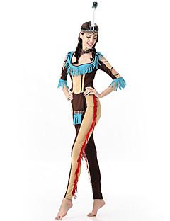 Cosplay Kostýmy / Kostým na Večírek Oktoberfest / Upír / primitivní / Kariéra kostýmy Festival/Svátek Halloweenské kostýmy HnědáBarevné