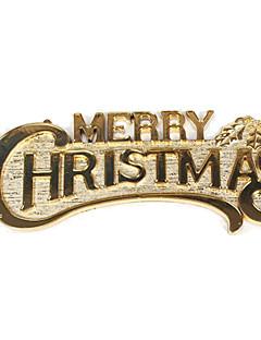 תכשיט חג זהוב PVC אביזרים Cosplay חג המולד