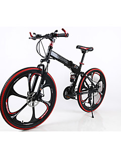Mountain Bike / Folding Bike Cycling 21 Speed 26 Inch/700CC Men's SIMANO TX30 Double Disc Brake Springer Fork Rear Suspension