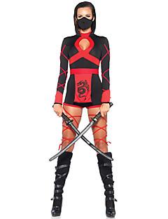 Costumes Uniforms Halloween Red Patchwork Terylene Dress / More Accessories