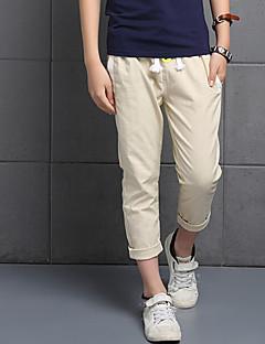Boy's Casual/Daily Solid PantsCotton Summer Black / Blue / Orange