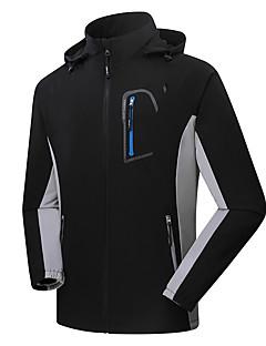 Hiking Softshell Jacket Men'sWaterproof / Breathable / Anti-Eradiation / Wearable / Antistatic / Windproof /