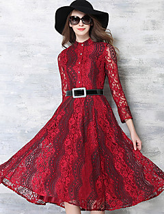 Women's Going out / Party/Cocktail / Holiday Vintage / Street chic / Sophisticated Swing Pin up Dress