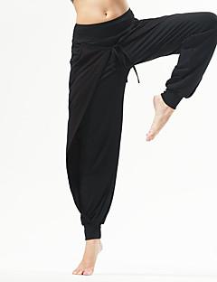מכנסיים יוגה מכנסיים נושם נוח טבעי מתיחה בגדי ספורט אפור שחור לנשים יוגה כושר גופני ספורט פנאי ריצה
