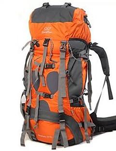 70+5 L Pacotes de Mochilas Mochila para Excursão Alpinismo Acampar e Caminhar ViajarInsulação de Calor Prova-de-Água Á Prova-de-Chuva Á