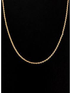 Dámské Řetízky Šperky Postříbřené Pozlacené minimalistický styl bižuterie Šperky Pro Svatební Párty Denní Ležérní Sport Vánoční dárky