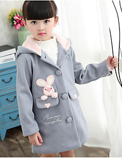 Girl's Casual/Daily Solid Suit & BlazerCotton Winter / Fall Pink / Red / Gray