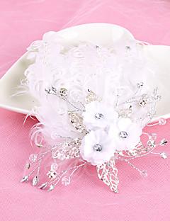 נשים סגסוגת כיסוי ראש-חתונה אירוע מיוחד כומתה חלק 1